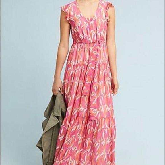 Maeve Dresses & Skirts - anthropologie maeve banana grove maxi dress